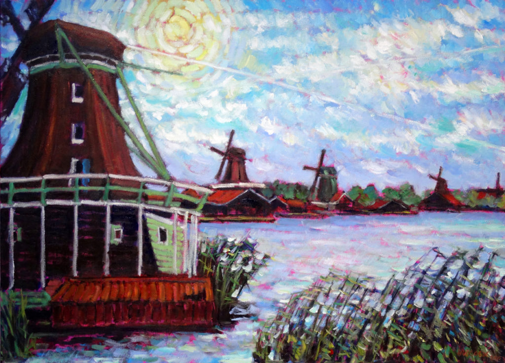 Windmills near the Zaan 2