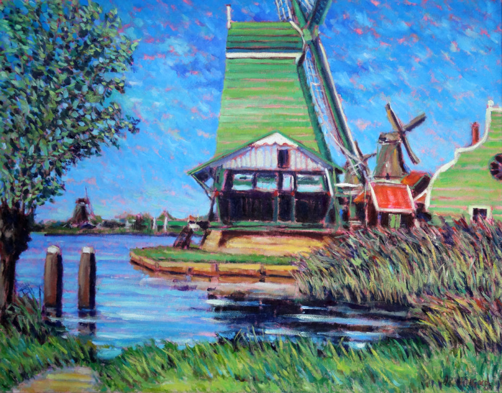 Windmills near the Zaan I